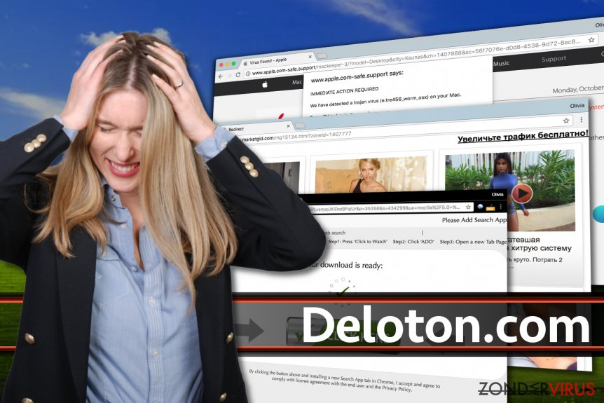Advertenties van Deloton.com