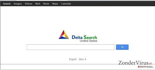 Delta-search.com redirect snapshot