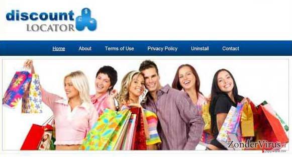 Discount Locator advertenties snapshot