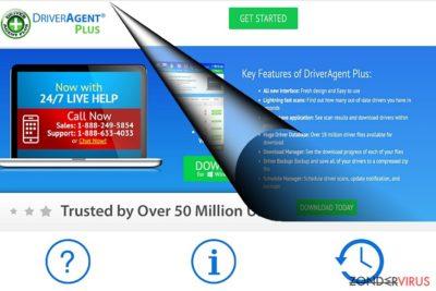Het voorbeeld van DriverAgent Plus