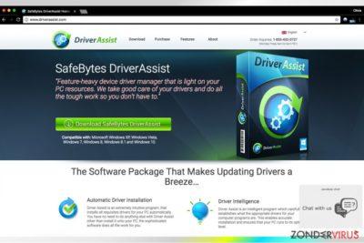 Driver Assist van SafeBytes