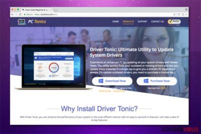 Driver Tonic afbeelding