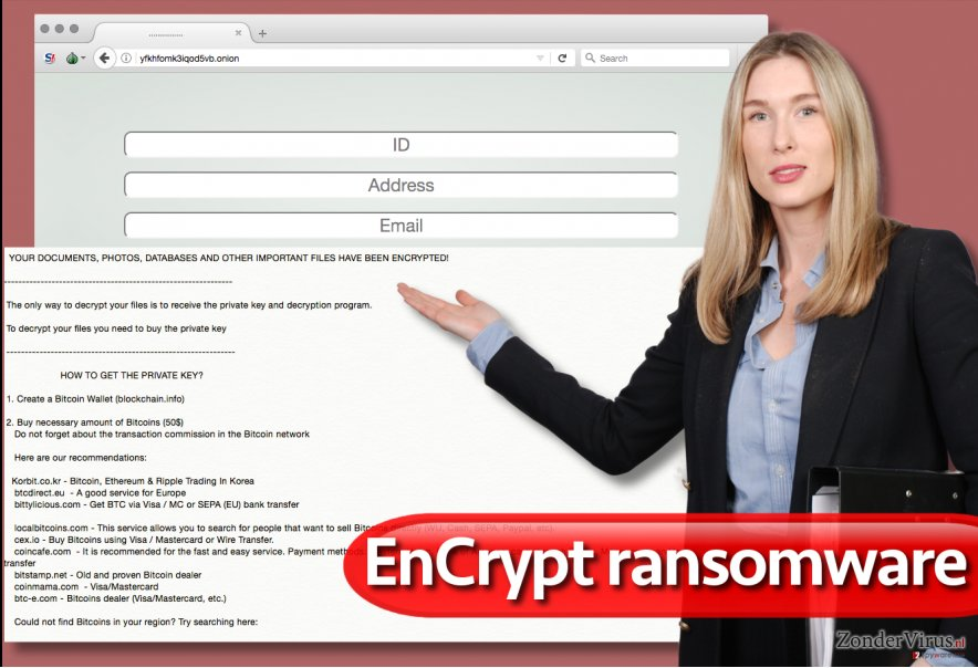 Het EnCrypt gijzelsoftware-virus