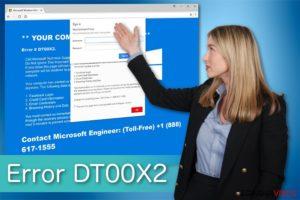 Error DT00X2