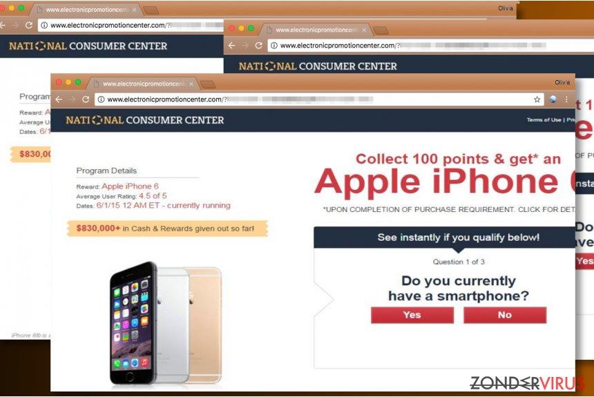 Advertenties van National Consumer Center