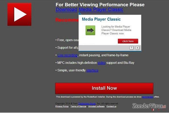 UpdatesJava.com pop-up virus snapshot