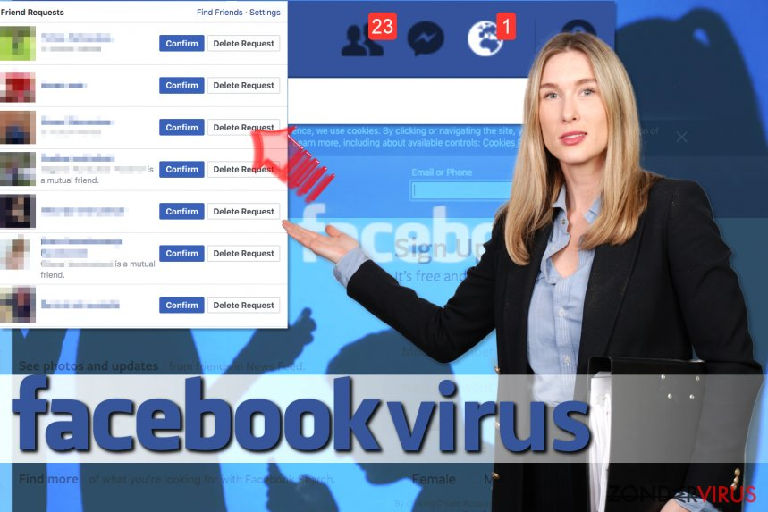 Het Facebook Friend Request-virus