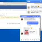 Facebook virus snapshot
