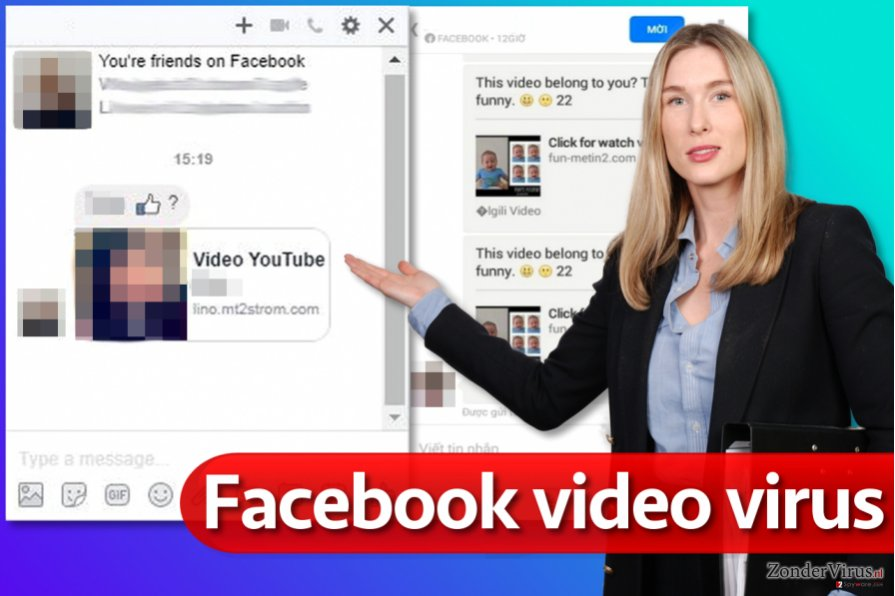 Facebook video virus snapshot
