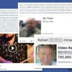 Facebook video virus snapshot