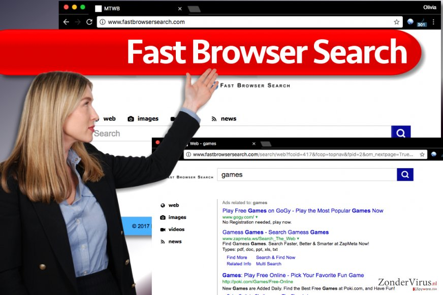 Het Fast Browser Search-virus