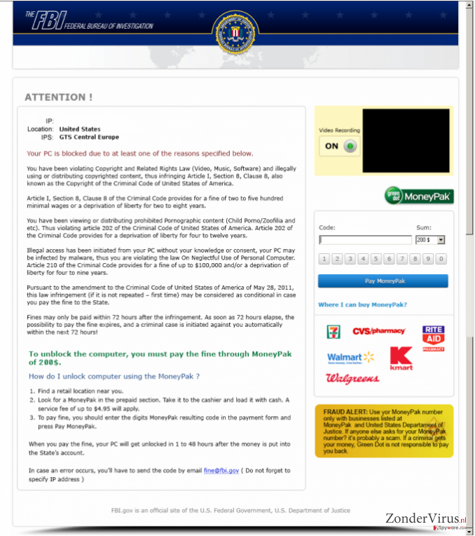 FBI Moneypak snapshot