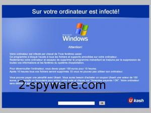 French Ukash virus snapshot
