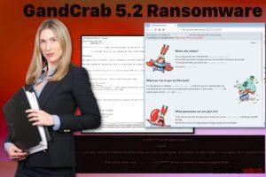De GandCrab 5.2 ransomware