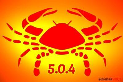 De GandCrab 5.0.4 ransomware