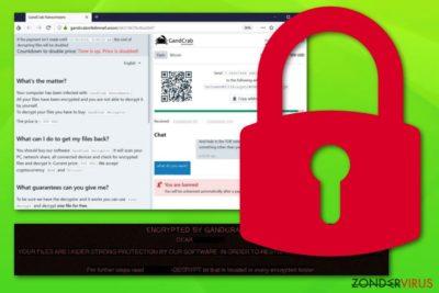 De Gandcrab 5.1 ransomware