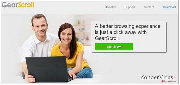GearScroll virus snapshot