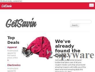 GetSavin snapshot