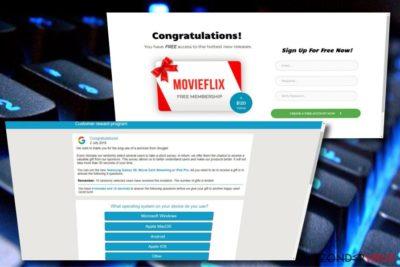 De Google Customer Reward Program scam