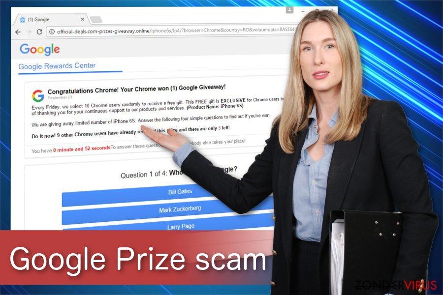 De 'Google Prize'-oplichting