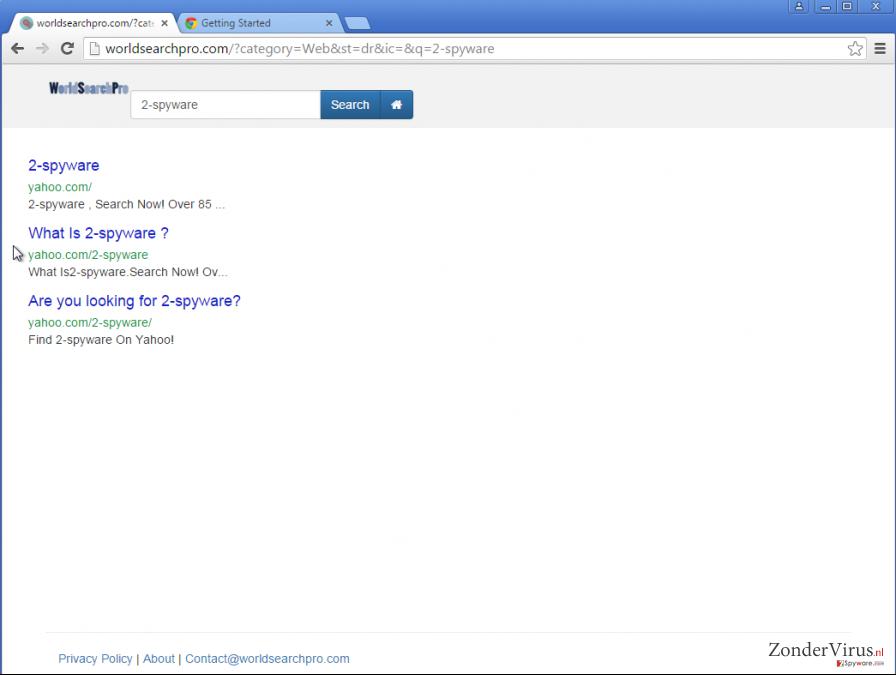 Google omleidingen