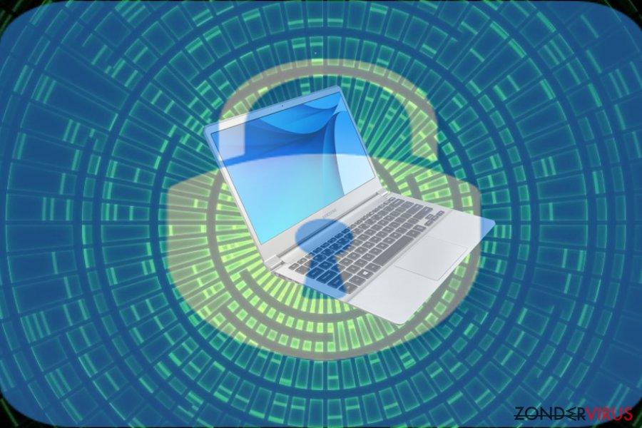 Afbeelding van de GuardBTC@cock.li ransomware