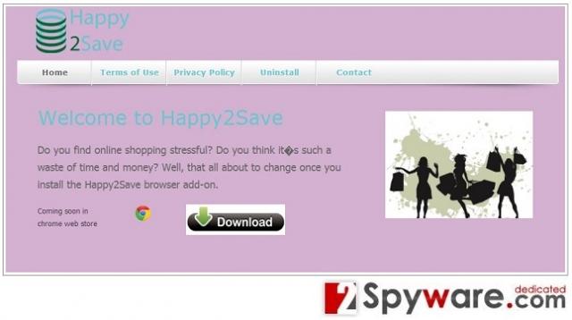 Happy2Save snapshot