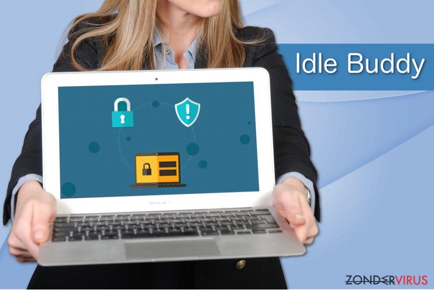 Voorbeeld van het Idle Buddy-virus