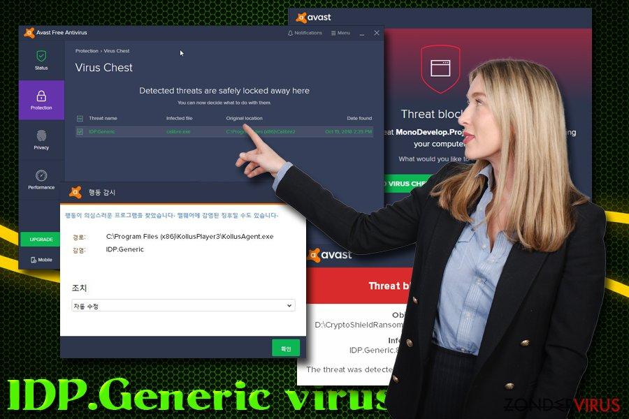 Heuristische detectie van het IDP.Generic-virus