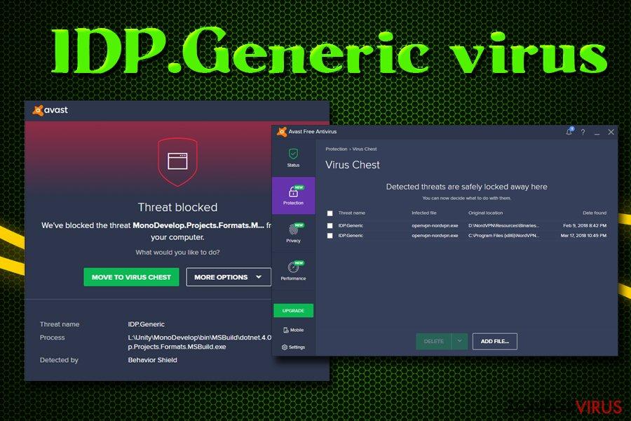 Het IDP.Generic-virus