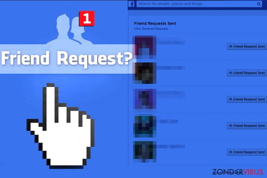 Facebook Friend Request virus sends friend requests to strangers