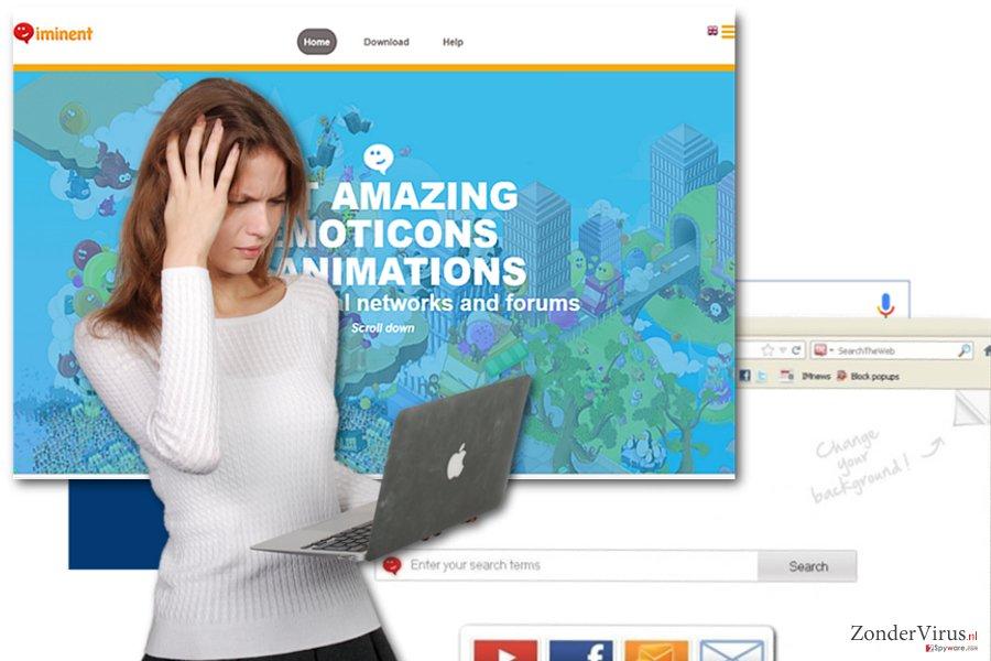 Iminent toolbar