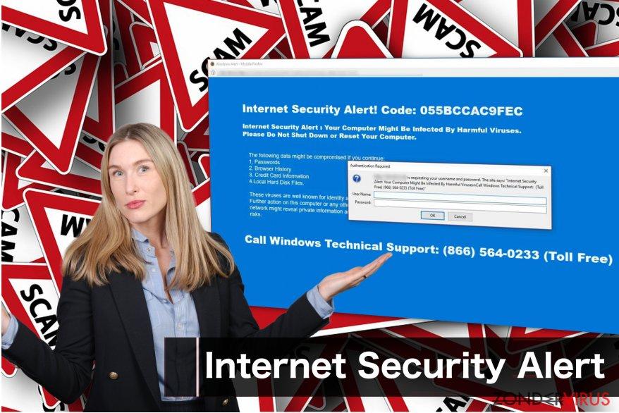 """Foutieve boodschap door """"Internet Security Alert"""""""