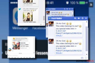 """Het """"Is that you"""" Facebook virus tonen"""