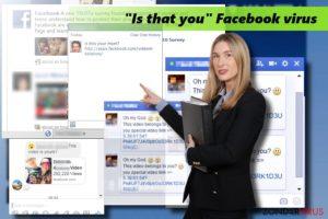 "Het ""Is that you"" Facebook virus"