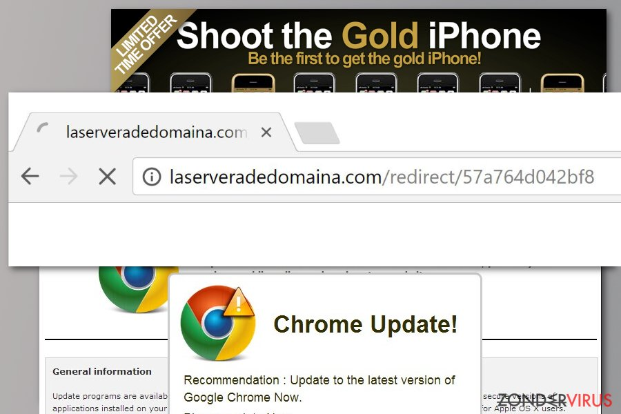 Laserveradedomaina.com redirect example