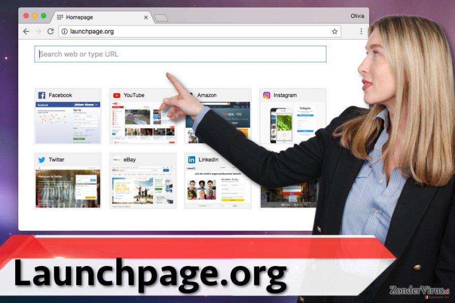 Launchpage.org virus