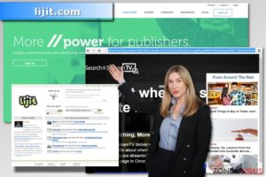 De kaping van uw computersysteem door lijit.com
