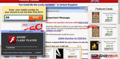 Verschillende voorbeelden van Liveadexchanger.com advertenties