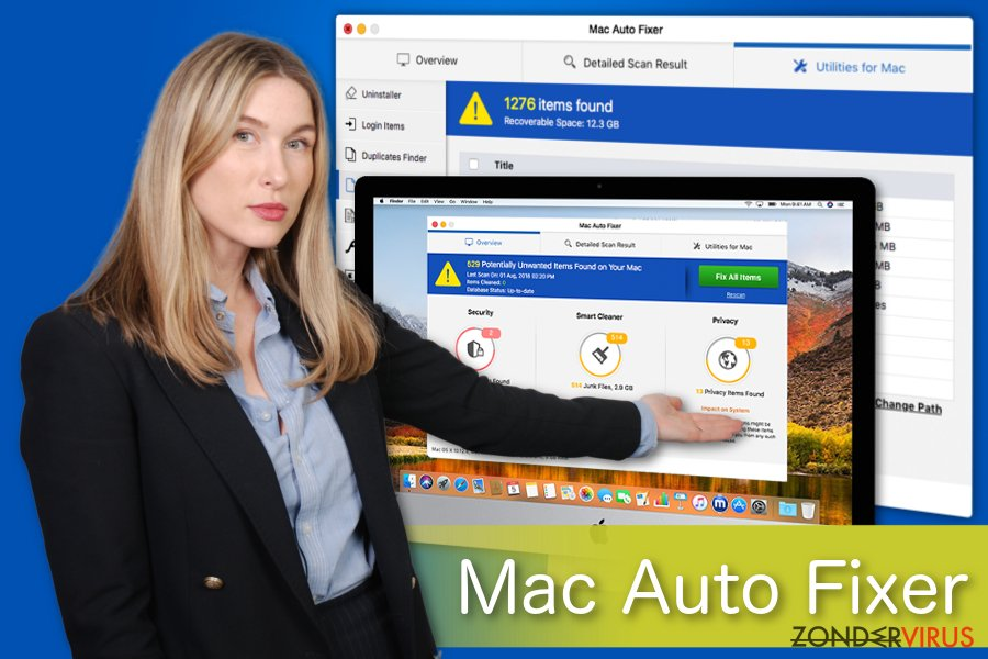 Mac Auto Fixer illustratie