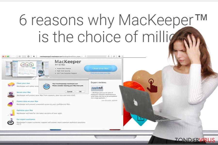 Het MacKeeper-virus