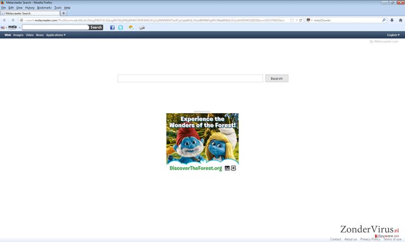 Metacrawler Toolbar snapshot