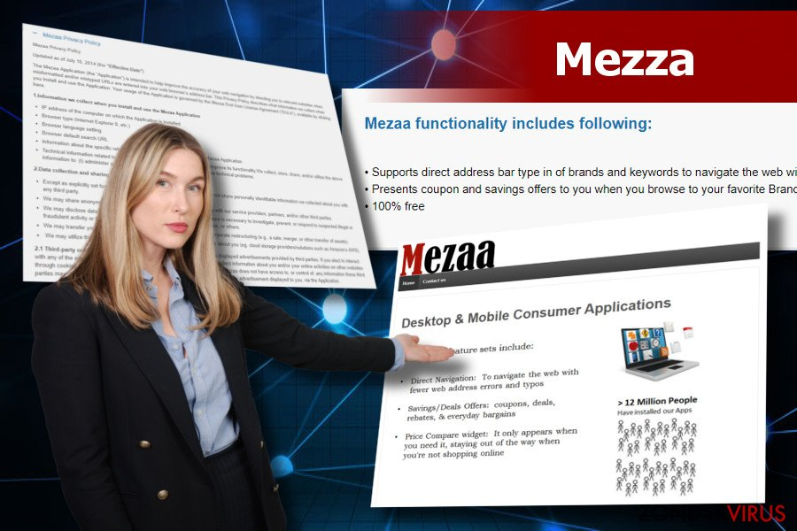 Mezaa-advertenties