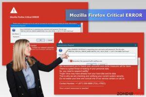 Mozilla Firefox Critical ERROR
