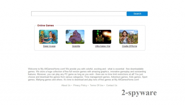 my.allgameshome.com snapshot