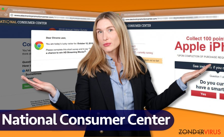 National Consumer Center-advertenties