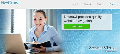 NetCrawl Advertenties snapshot