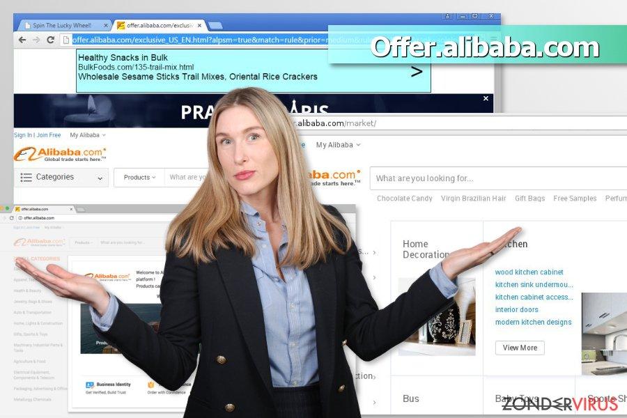 Offer.alibaba.com advertenties snapshot