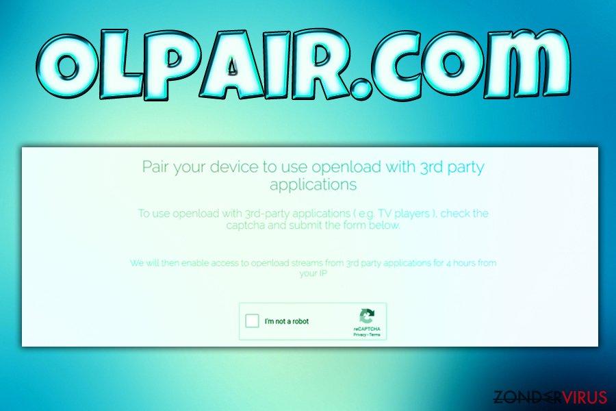 Het Olpair.com virus