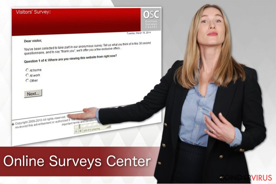 Online Surveys Center virus snapshot